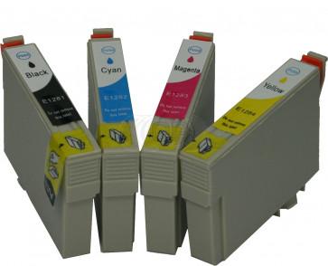 Epson T1281 voordeelset + chip (huismerk)