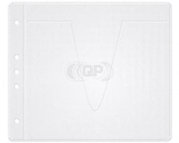 CD/DVD hoesje 50 stuks Sleeves voor 2 Discs (ordners / multimappen enz.) wit