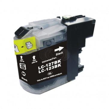 Brother LC-123BK inktcartridge zwart (huismerk)