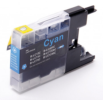 Brother LC-1220C / 1240C inktcartridge cyaan (huismerk)
