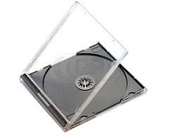 CD jewelcase 10.4mm zwart budgetline+ 49 stuks
