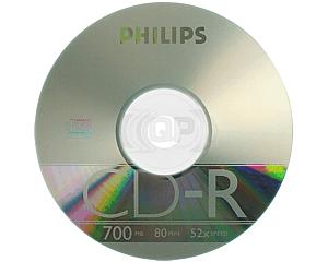 CD-R 52X Philips 100 stuks