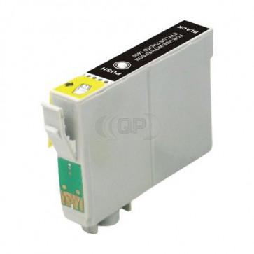 Epson T0611 inktcartridge zwart + chip (huismerk)