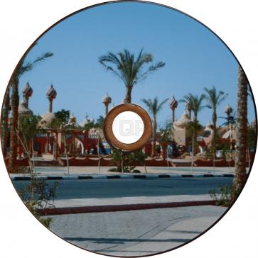 DVD-R 4.7GB 16X Profselect 50 stuks glossy full wit inktjet printable