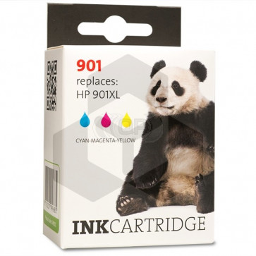 HP 901 (CC656AE) inktcartridge kleur (huismerk)