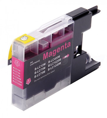 Brother LC-1220 / 1240M inktcartridge magenta (huismerk)