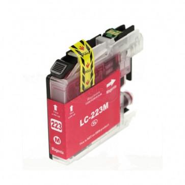 Brother LC-223M inktcartridge magenta + chip (huismerk)