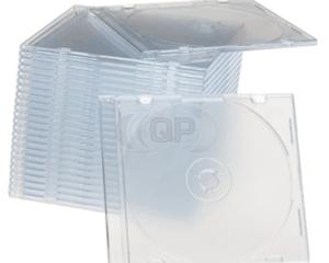 CD jewel slimcase 5.2mm transparant Premiumline 100 stuks
