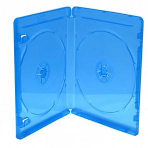Blu-ray Disc doos voor 2 discs (7mm) blauw 49 stuks