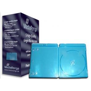 Blu-ray Disc doos voor 1 disc  (11mm) blauw 5 stuks