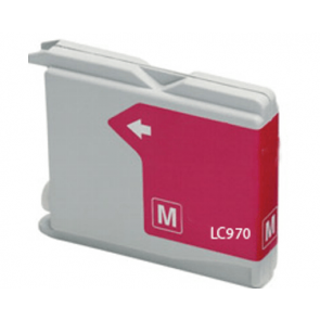 Brother LC-970 / LC-1000M inktcartridge magenta (huismerk)