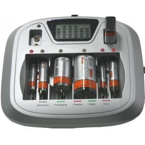 Camelion CM-3298 batterijlader 8 kanaals + USB