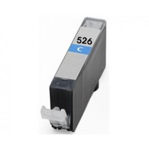 Canon CLI-526C inktcartridge cyaan + chip (huismerk)