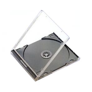 CD jewelcase 10,4mm zwart budgetline+ 49 stuks