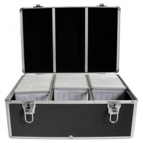 DJ koffer voor 500 schijven zwart