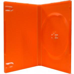 DVD doos 14mm 1 dvd rood mix 98 stuks recycling