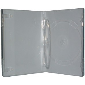 DVD doos 14mm 2 dvds extra doorzichtig professionele kwaliteit 10 stuks