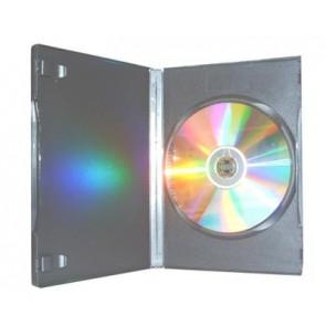 DVD doos 7mm 1 dvd Budget zwart 98 stuks