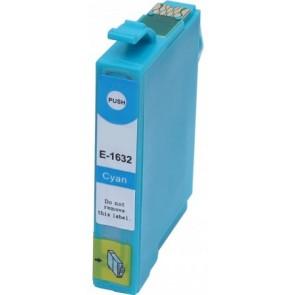Epson 16XL (T1632) inktcartridge cyaan hoge capaciteit + chip (huismerk)