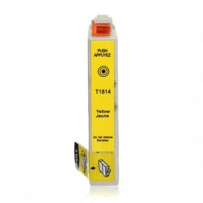 Epson 18XL (T1814) inktcartridge geel hoge capaciteit + chip (huismerk)