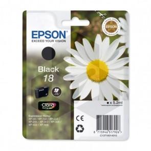 Epson 18 (T1801) inktcartridge zwart (origineel)
