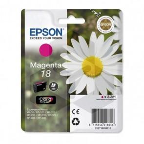 Epson 18 (T1803) inktcartridge magenta (origineel)