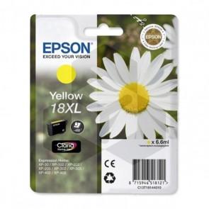 Epson 18XL (T1814) inktcartridge geel hoge capaciteit (origineel)