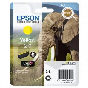 Epson 24 (T2424) inktcartridge geel (origineel)