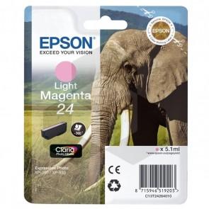 Epson 24 (T2426) inktcartridge licht magenta (origineel)