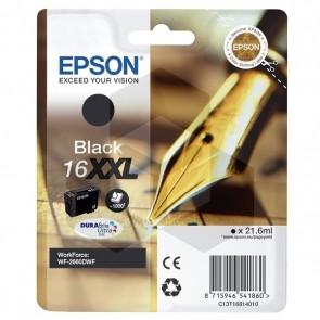 Epson 16XXL (T1681) inktcartridge zwart extra hoge capaciteit (origineel)