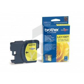 Brother LC-1100Y inktcartridge geel (origineel)