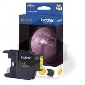 Brother LC-1220Y inktcartridge geel (origineel)