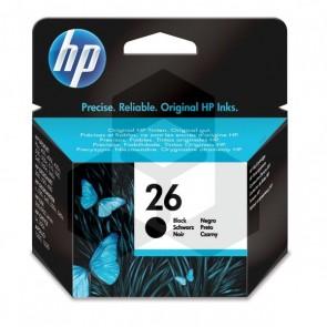 HP 26 (51626AE) inktcartridge zwart (origineel)