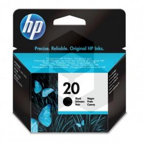 HP 20 (C6614DE) inktcartridge zwart (origineel)