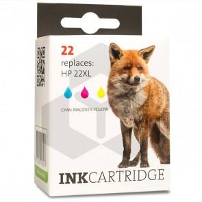 HP 22 (C9352AE) inktcartridge kleur (huismerk)