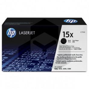 HP 15X (C7115X) toner zwart hoge capaciteit (origineel)