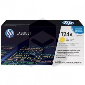 HP 124A (Q6002A) toner geel (origineel HP)