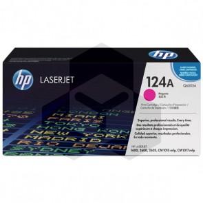 HP 124A (Q6003A) toner magenta (origineel HP)