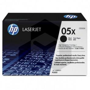 HP 05X (CE505X) toner zwart hoge capaciteit (origineel HP)