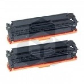 HP 125A (CB540AD) toner zwart dubbelpak (huismerk)