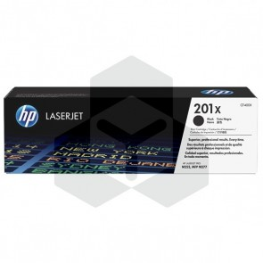 HP 201X (CF400X) toner zwart hoge capaciteit (origineel)