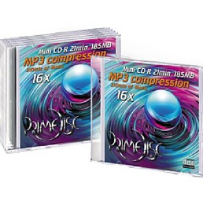 CD-R mini 8cm Primedisc 5 stuks