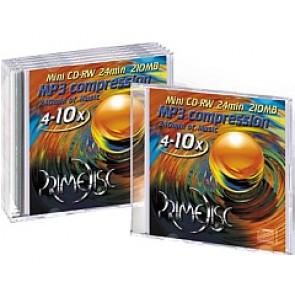 CD-RW mini 8cm Primedisc 5 stuks