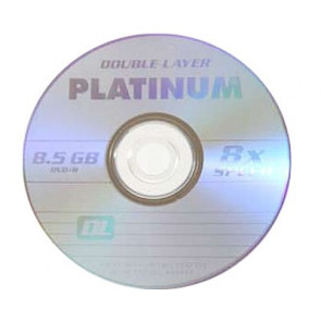 DVD+R 8.5GB 8X Platinum double layer 10 stuks
