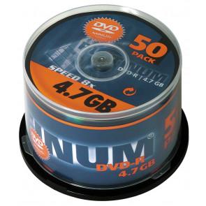 DVD-R 4.7GB 16X Platinum 50 stuks