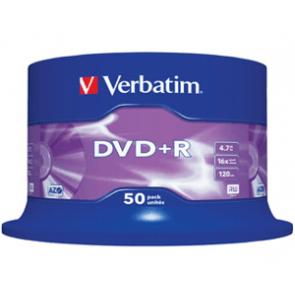 DVD+R 4.7GB 16X Verbatim 50 stuks