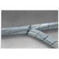 Kabel opruimband 12-70mm 10 meter transparant