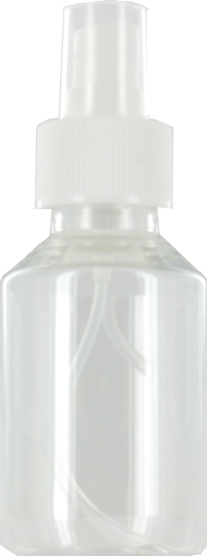 Lege verstuiver spray flesjes 100ml transparant hervulbaar plastic